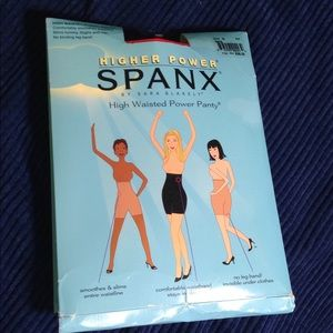 SPANX SIZE G PLUS SIZE HIGH WAIST POWER PANTY bare
